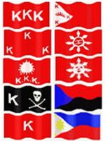 revolutionary flags